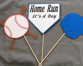 Baby Boy Shiwer Baseball Theme