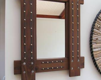 Handmade Reclaimed  Mirror