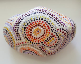 Ah-Mazed, Painted Rock Art, Acrylic Painted Rock Art, Rock Art, A-Rock-A-Day, Daily Meditation