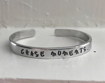 Chase Moments cuff - Claire Contreras, The Player <Copper or Aluminum>