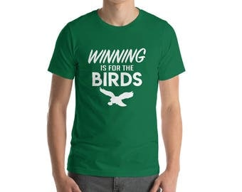 Philadelphia Eagles Winning is for the Birds Champions Philly Football T Shirt