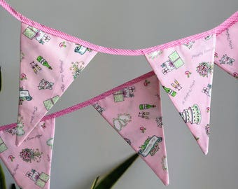 Wedding, Kitchen Tea, Bridal Shower, Hens Night Bunting | 10 flags