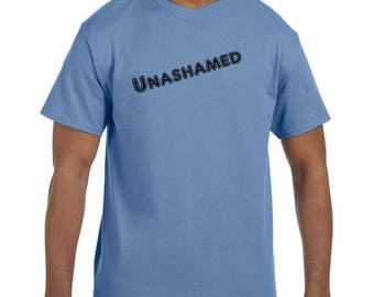 Christian Religous Tshirt Unashamed model xx10301