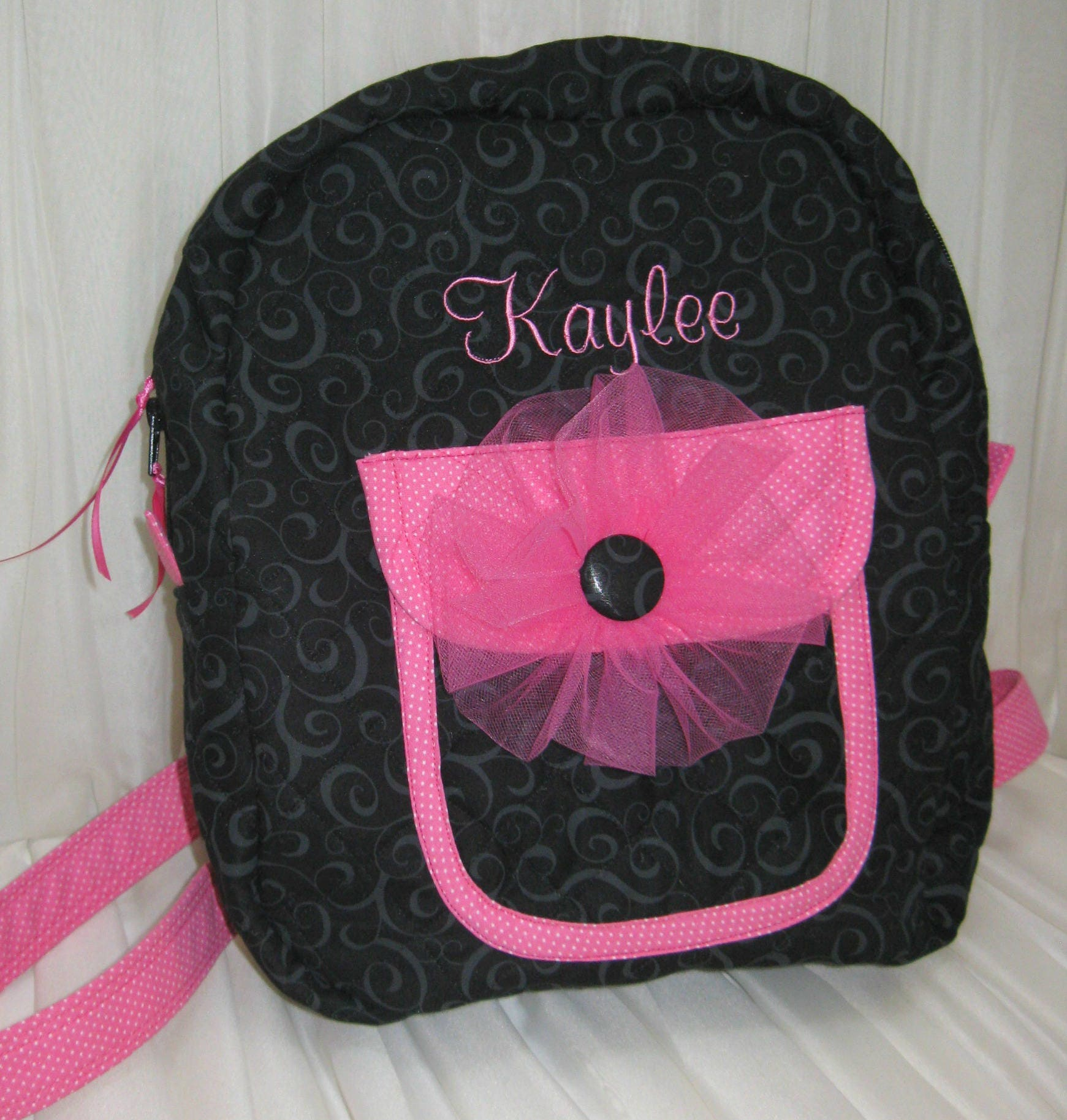 b38c2599cd Custom Quilted Backpack