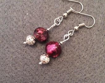 Stunning pearl earrings