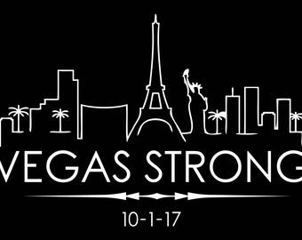 Vegas Strong Decal, Vegas Strong Sticker, Vegas Sticker, Vegas Decal, Vinyl Sticker, Car Decal, Car Sticker, Bumper Sticker, Vehicle Decal C