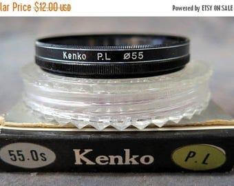 S 55mm Kenko PL (Polarizing) Lens Filter