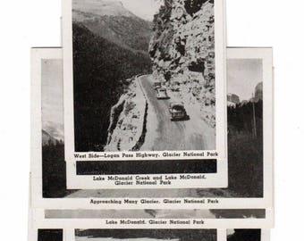 "S Black Hills, South Dakota Park Black and White 31/2"" X 2 1/2"" Sovenior Pictures"