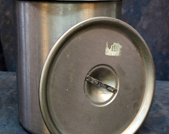 8 Qt. Stainless Steel Pot Bain Marie Vollrath 79220 Lid