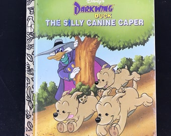 "1992 A Little Golden Bood Darkwing Duck ""The Silly Canine Caper"""