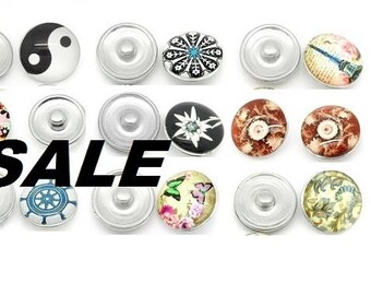 SALE! Push button, push-buttons, button, buttons button, Gr. L, selection