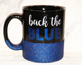 Back The Blue Mug