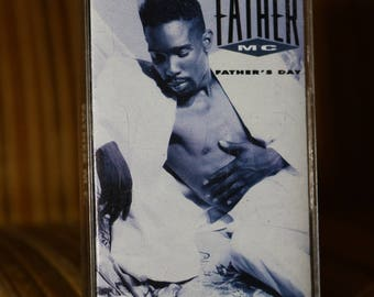Father MC Cassette Tape Music Vintage 1990 Old School Rap Music Timothy Brown with Jodeci Mary J Blige Discovered by Uptown Sean Puffy Combs