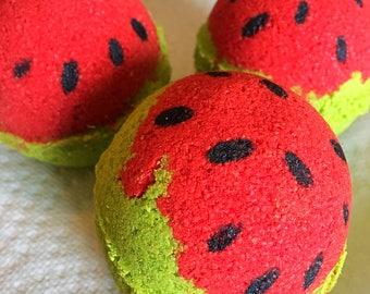 Watermelon Handmade Bath Bomb
