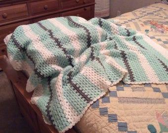 Crochet Baby or toddler afghan