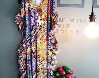 Bohemein All size Dress Summer Beach Dress Maternity Dress Over Size Dress