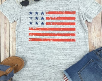 American Flag Shirt, American shirt, 4th of July, Independence Day, Fourth of July, July 4th, Fourth, American, Flag, Patriotic, USA