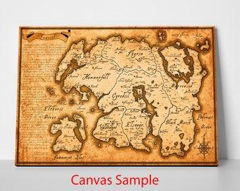 Elder Scrolls - Map of Tamriel