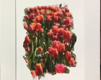 Tulips for miles 8x10 cardstock print