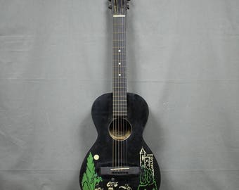 1940's Supertone Parlor Robin Hood Guitar