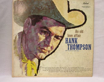 Hank Thompson Vinyl Record Album An Old Love Affair
