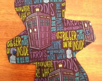 "9"" Doctor Who -Bigger on the Inside- Cloth Pad"