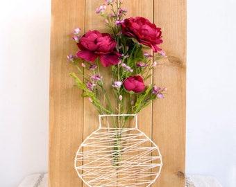 Flower Basket Plaque