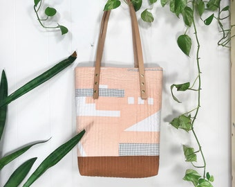 QUILTED TOTE 002