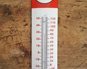 Texaco thermometer - Motor Oil on enamel