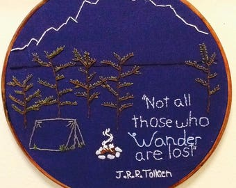 Quote Embroidery