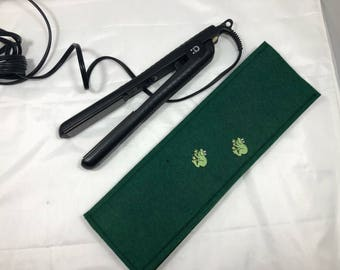 Hair straightener / Curling Iron Case with little frogs