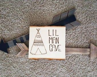 Lil Man Cave, Forest Theme, Nursery,