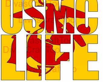 USMC Life SVG