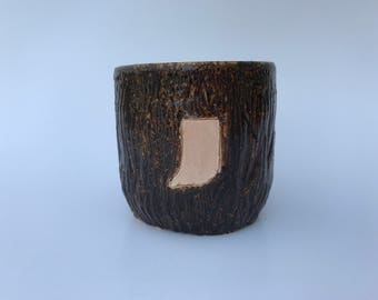 State Faux Wood Cup