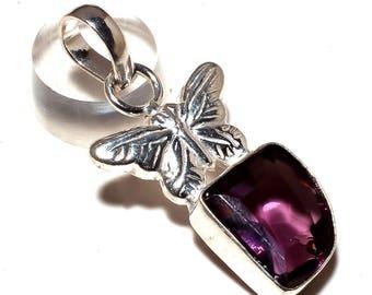 AMETRINE GEMSTONE 925 silver pendant handmade jewelry