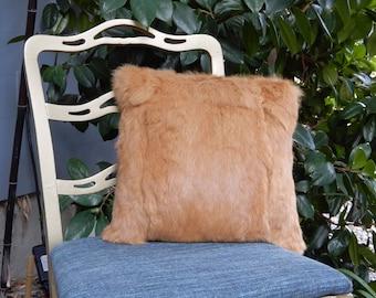 Ginger Rabbit Secret Stash Pillow