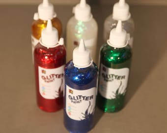 Glitter Paint Set of 6 (500ml)