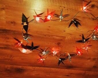Garland origami led