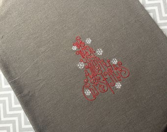Christmas flour dish towel
