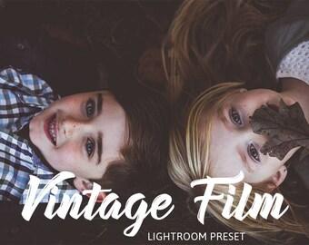 Vintage Film Lightroom and Camera Raw/Photoshop Preset/ Premium Lightroom Preset for Photographers by HubaFilter