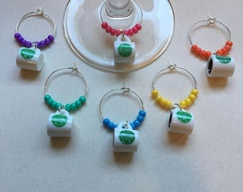 Starbucks Wine Charms