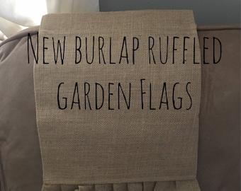 Garden Flags- Ruffled