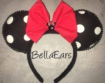Minnie Mouse Polka Dot Ears