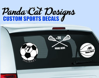 Sports Car Decals Etsy - Sport decal stickers for cars