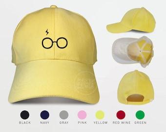 Harry Potter Lightning Glasses Baseball Caps Tumblr Caps