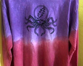Violet Sea/Red Sand Crazy Fingers Long Sleeve