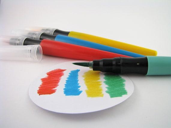 4 Soft Tip Brush Pens Hand Lettering Calligraphy
