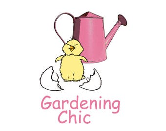 T-SHIRT: Gardening Chic - Classic T-Shirt & Ladies Fitted Tee - (LazyCarrot)