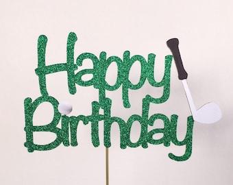 Happy Birthday Golf Theme