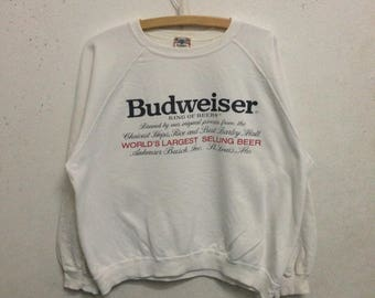 Vintage 90's Budweiser Sweatshirts